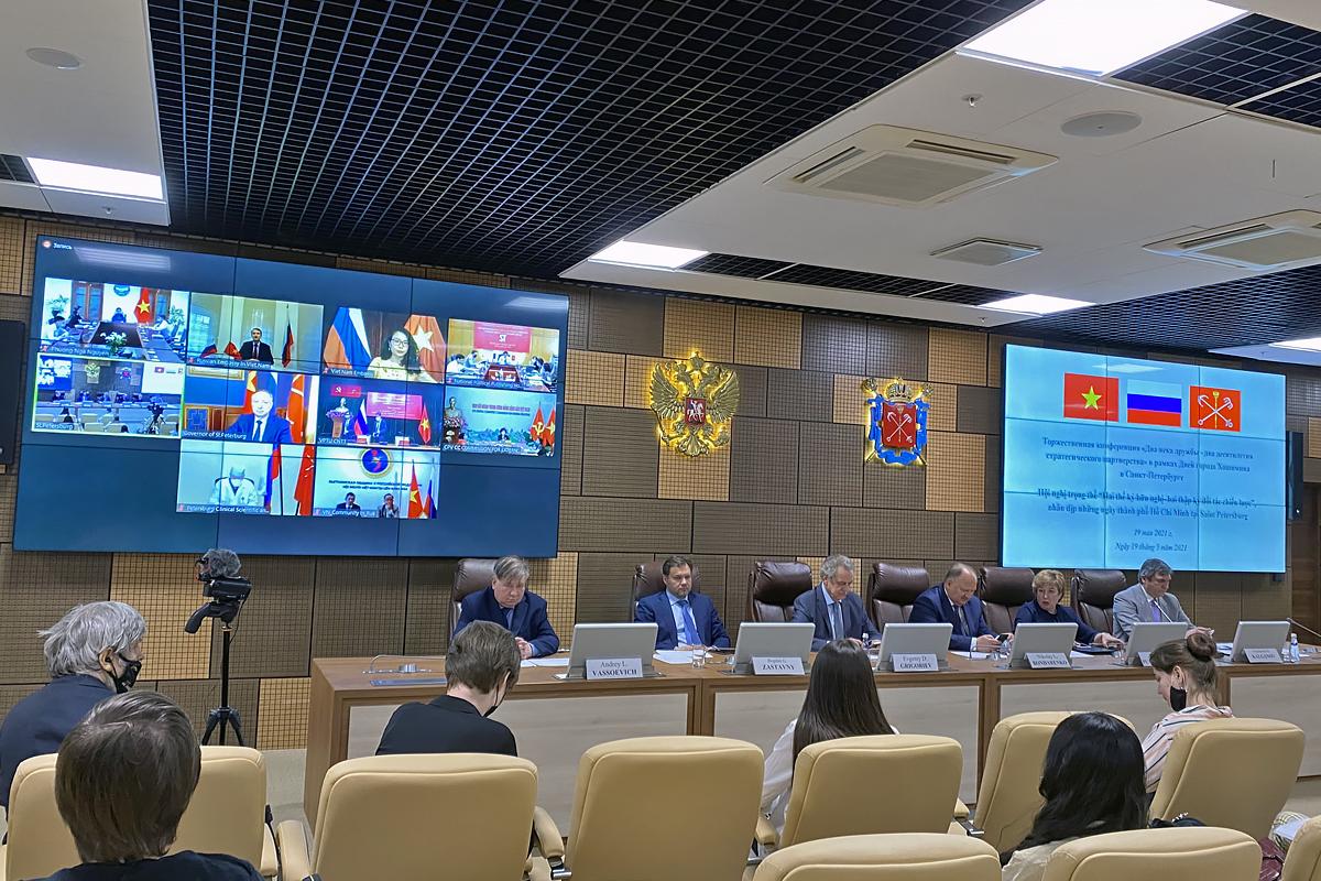 СПбПУ принял участие в конференции в рамках ежегодного празднования Дней города Хошимина в Санкт-Петербурге