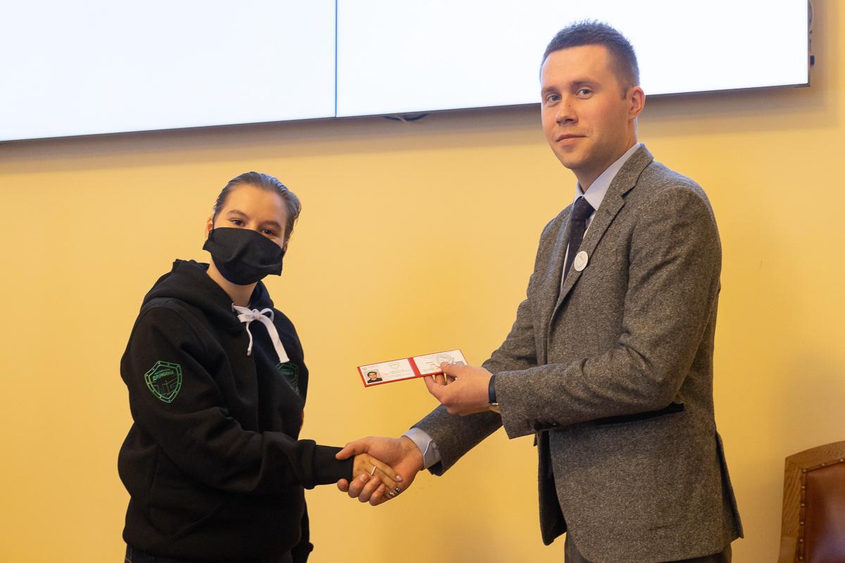 Максим Пашоликов гордится молодыми политехниками