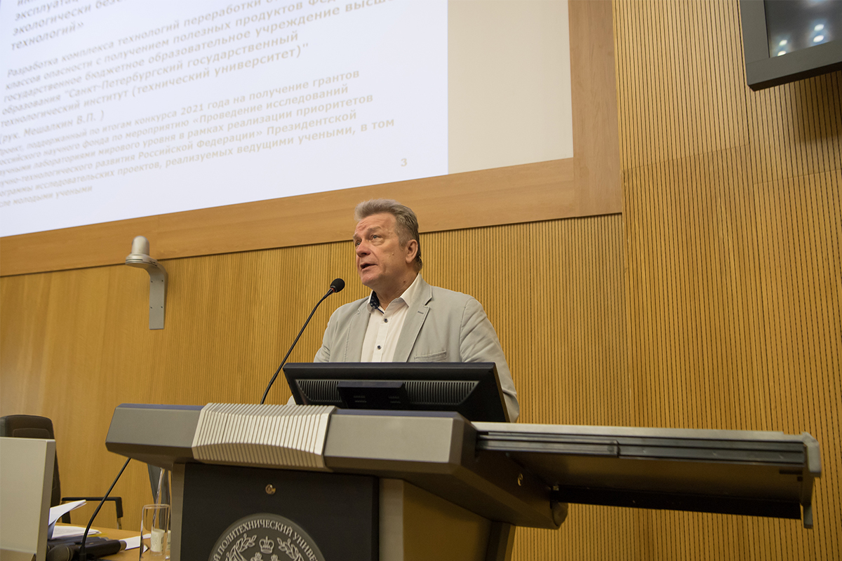 Председатель программного комитета ММТТ-34 профессор СПбПУ Александр БОЛЬШАКОВ