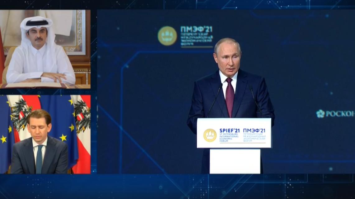 Свое выступление президент РФ Владимир ПУТИН посвятил вопросам социально-экономического развития страны