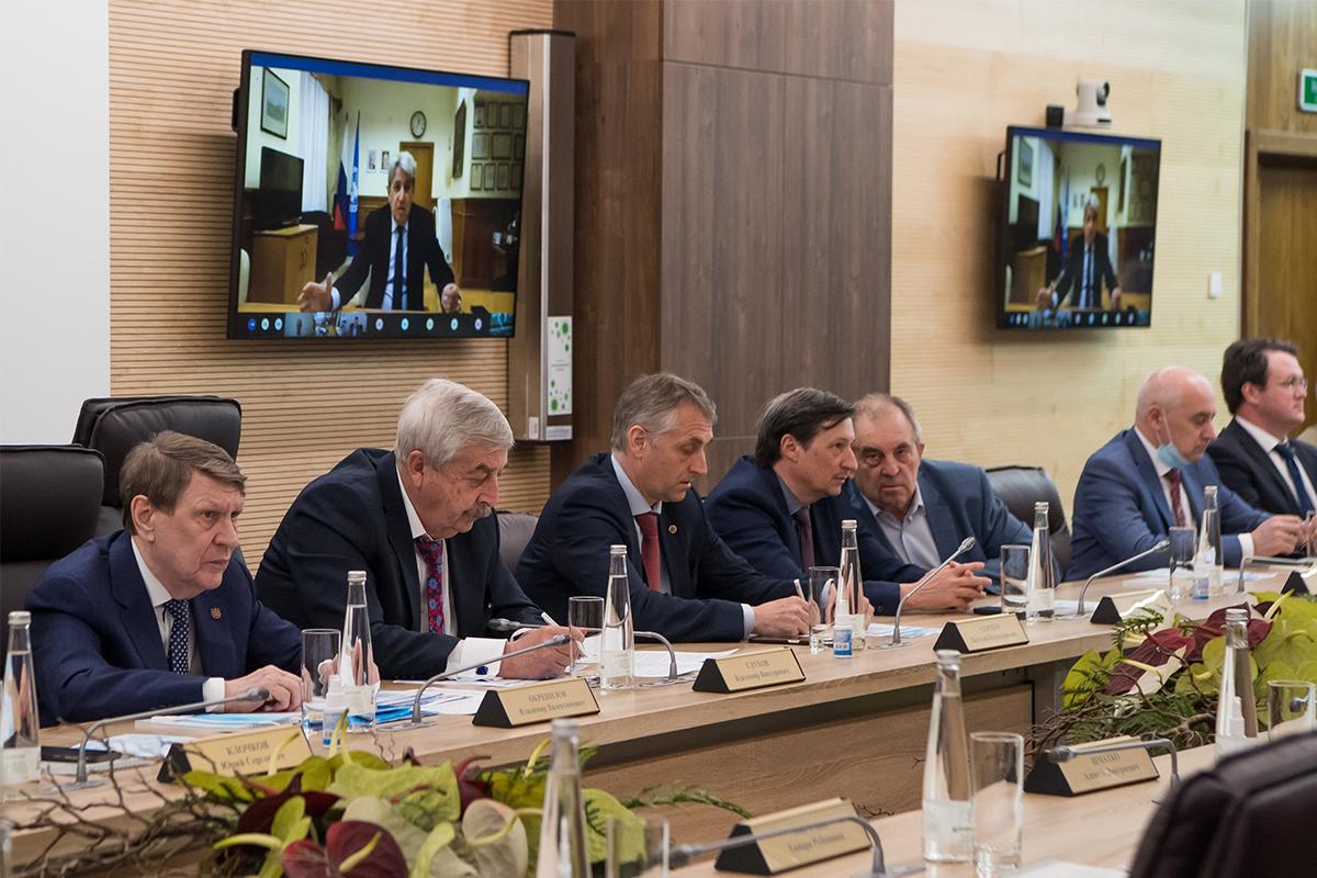 Григорий ОРДЖОНИКИДЗЕ принял участие в конференции по видеосвязи
