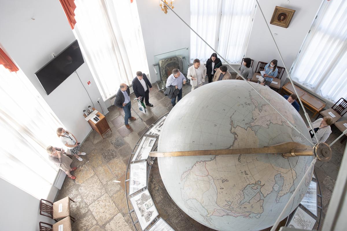 Создание виртуальной модели Готторпского глобуса – одна из задач в рамках заключенного соглашения