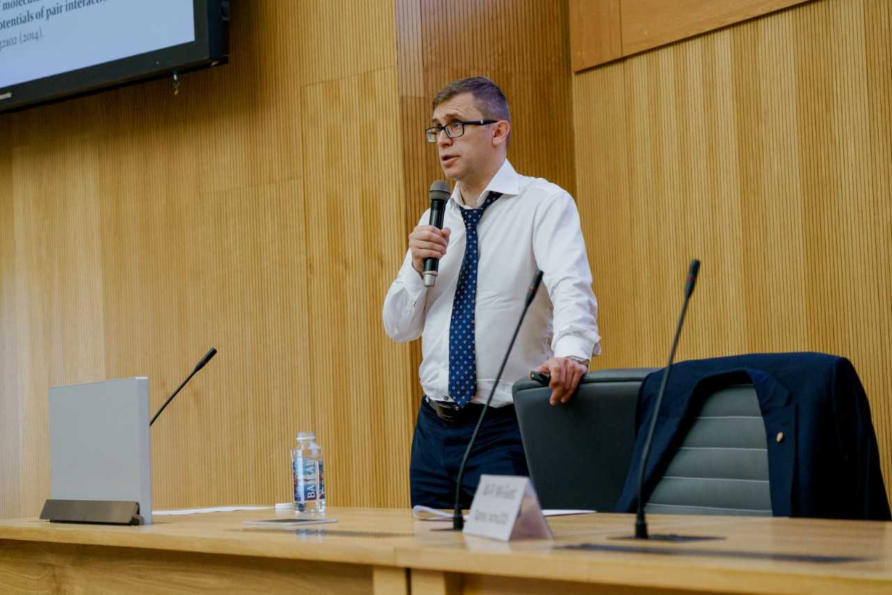 Сопредседатель конференции Антон Кривцов выступил с пленарным докладом
