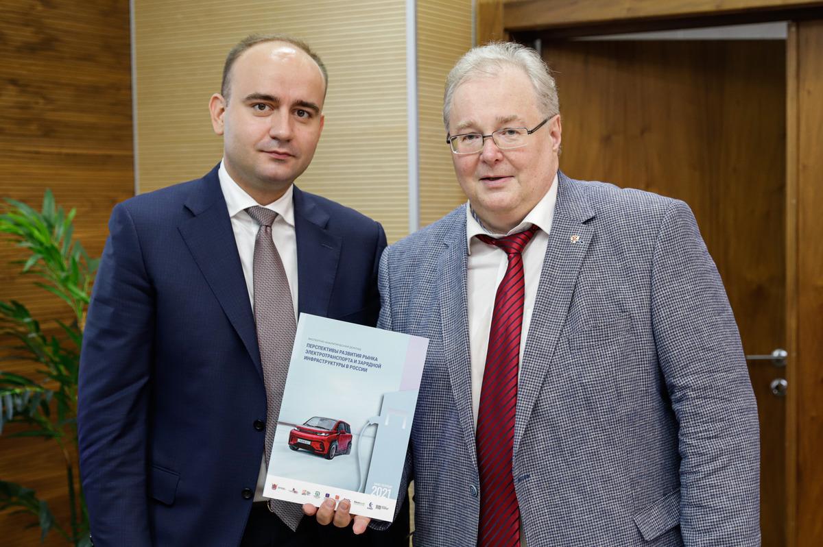 Вячеслав Федорищев и Алексей Боровков