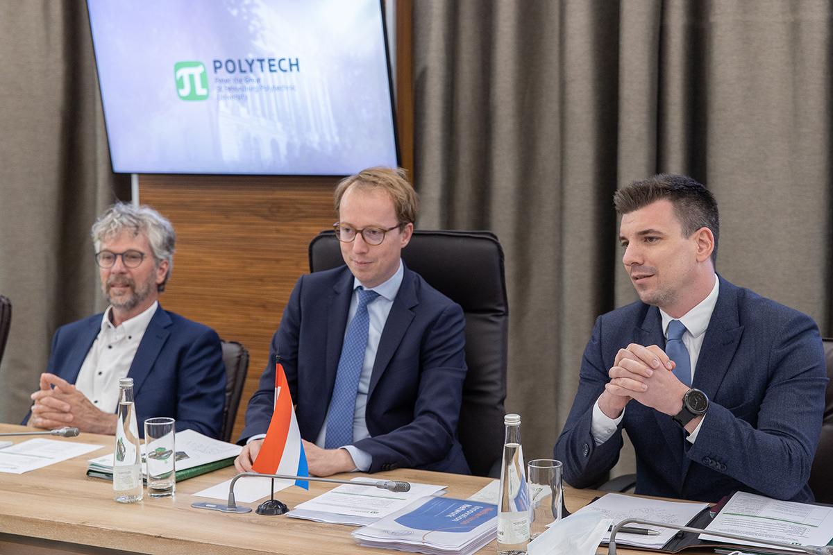 Делегация Посольства Королевства Нидерландов в Москве и Генерального консульства Королевства Нидерландов в Санкт-Петербурге посетила СПбПУ