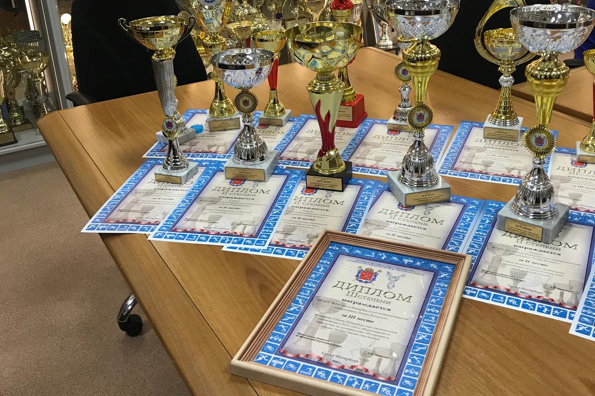 Награды ждут победителей и призеров в СК Политехник