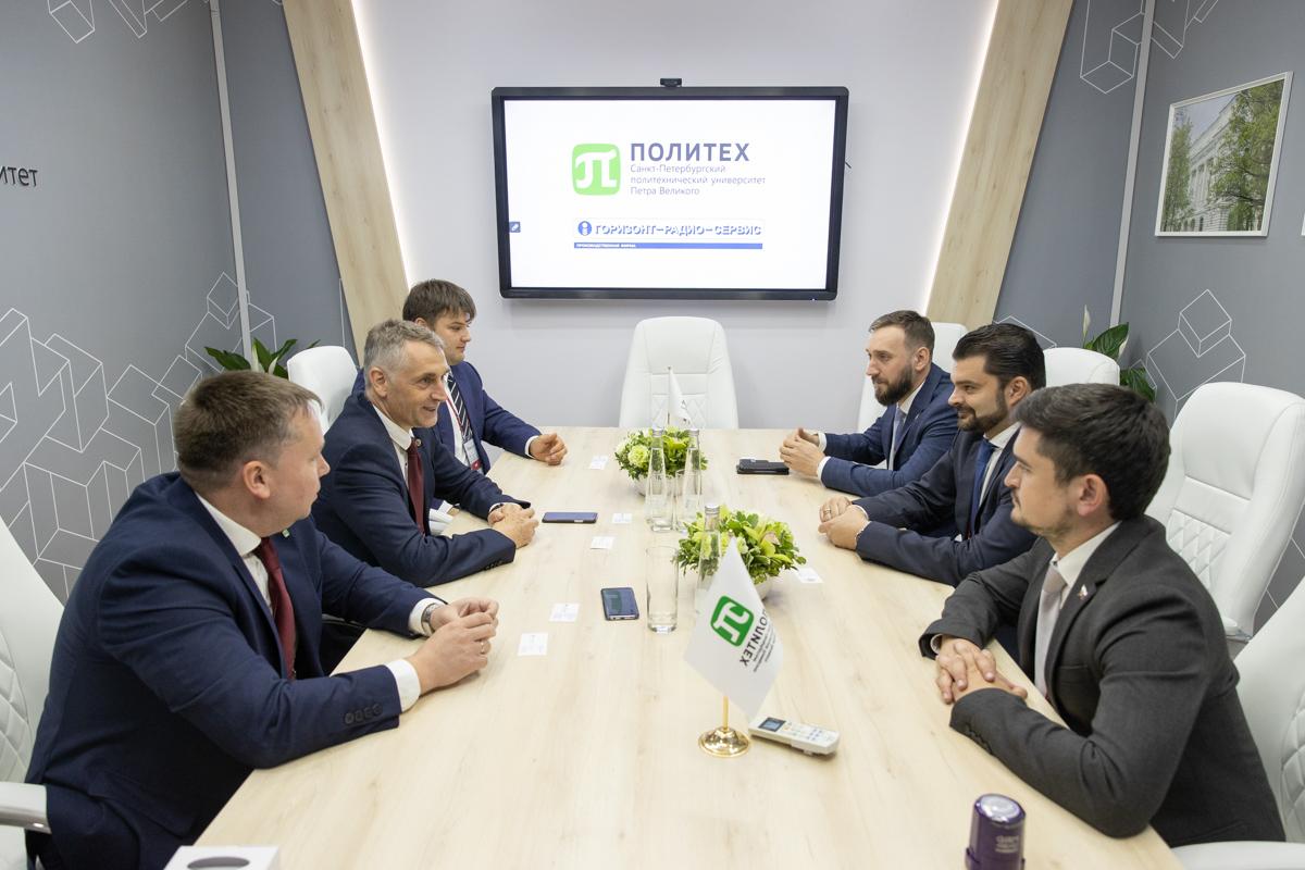 Переговоры с делегацией ООО «НПО «Горизонт»