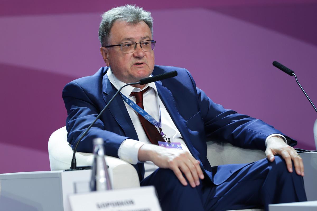 Заместитель генерального директора по науке и стратегии Госкорпорации «РОСАТОМ» Юрий Оленин