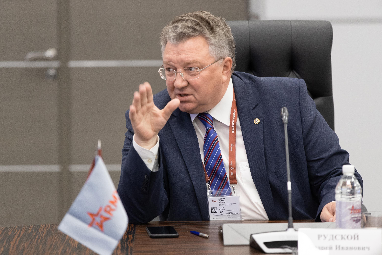 Ректор СПбПУ академик РАН Андрей Рудской