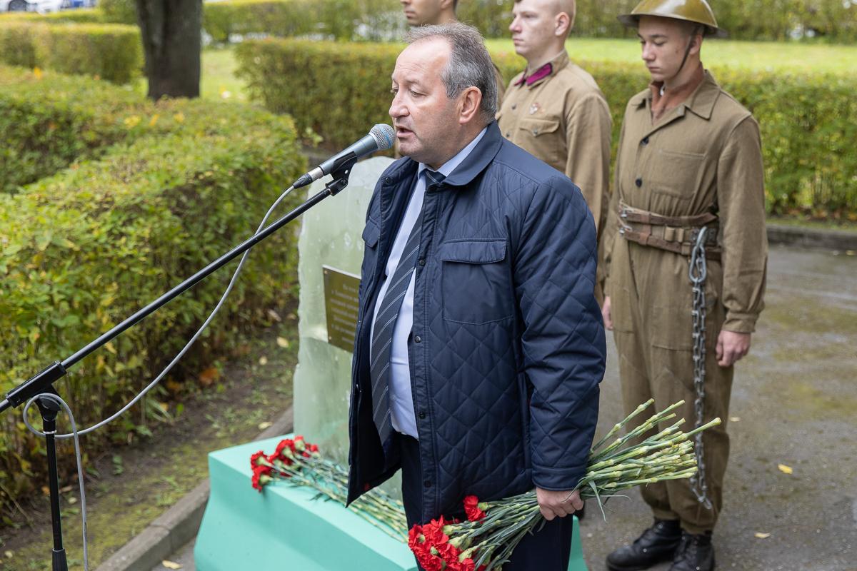 Глава совета депутатов муниципального образования «Академическое» Игорь Пыжик