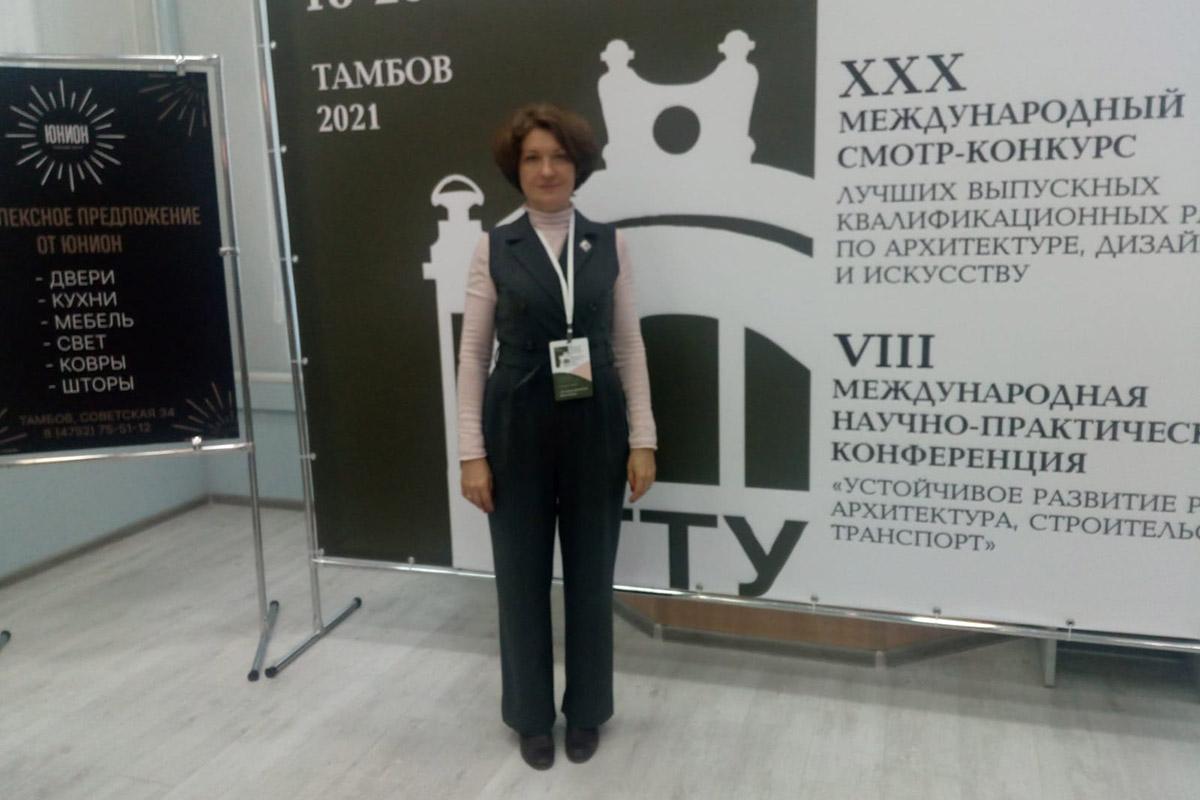 И.о. директора ВШДиА СПбПУ Маргарита ПЕРЬКОВА
