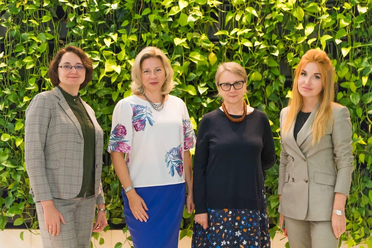 Виктория ГОРБЕНКО, Екатерина БУСУРИНА, Ирена КУРАЛЁВА и Марианна ДЬЯКОВА