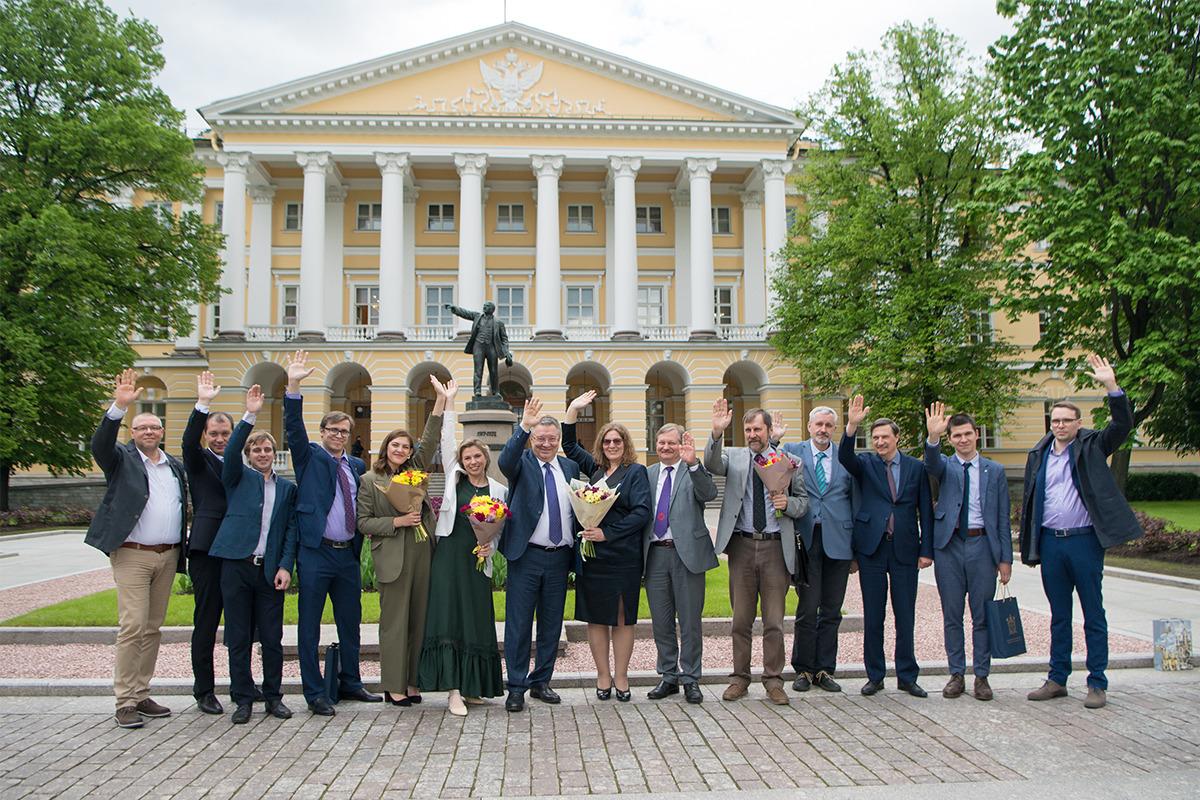Политехники получили награды Правительства Санкт-Петербурга