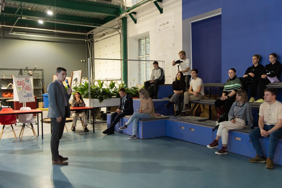 Начальник Управления молодежной политики Иван ХЛАМОВ рассказал о важности проектной работы