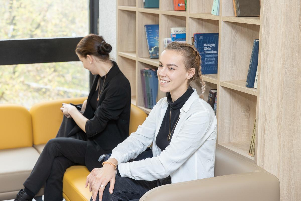 Коворкинг – результат совместной работы дирекции института, студентов и дизайнеров