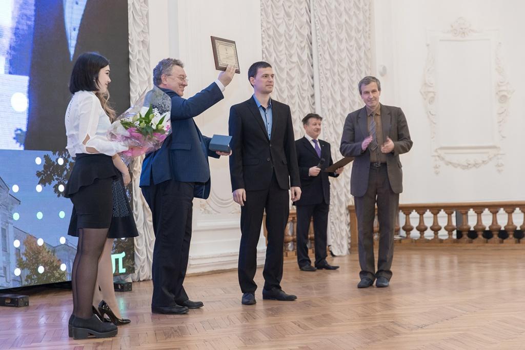 А.И.Рудской наградил победителей молодежного конкурса среди обучающихся и сотрудников СПбПУ