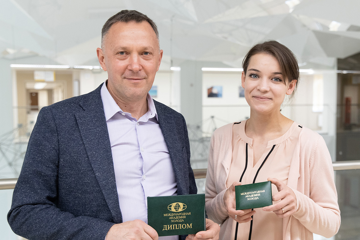 Андрей Гусаков и Эльза Зайнуллина