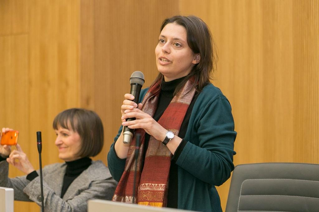 Директор международного офиса Бранденбургского технического университета Марайка Кунце