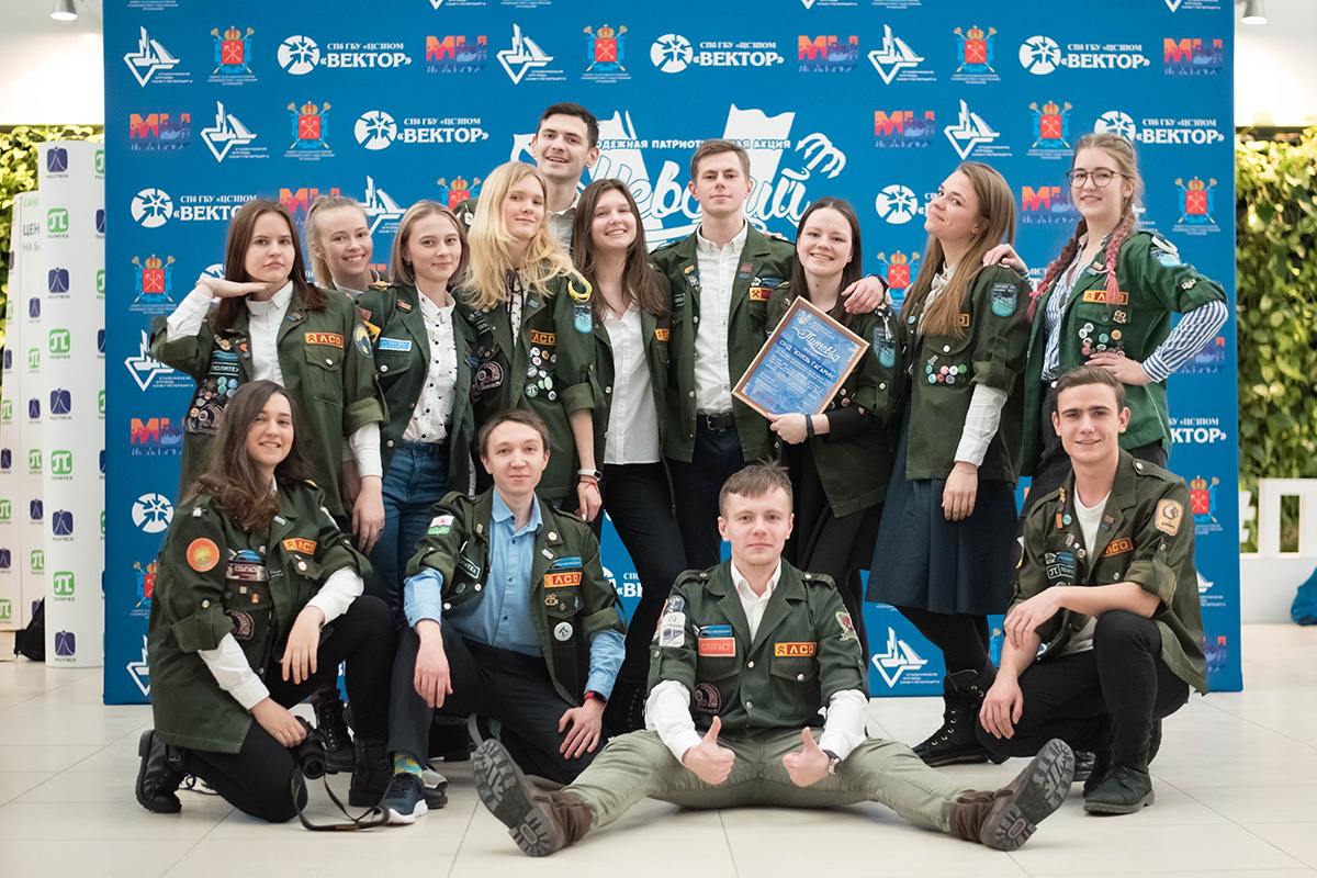 Комиссар студотряда Князь Гагарин Катя СТОЛЯРОВА, получив путевку, уверена: ее ребята смогут всё!