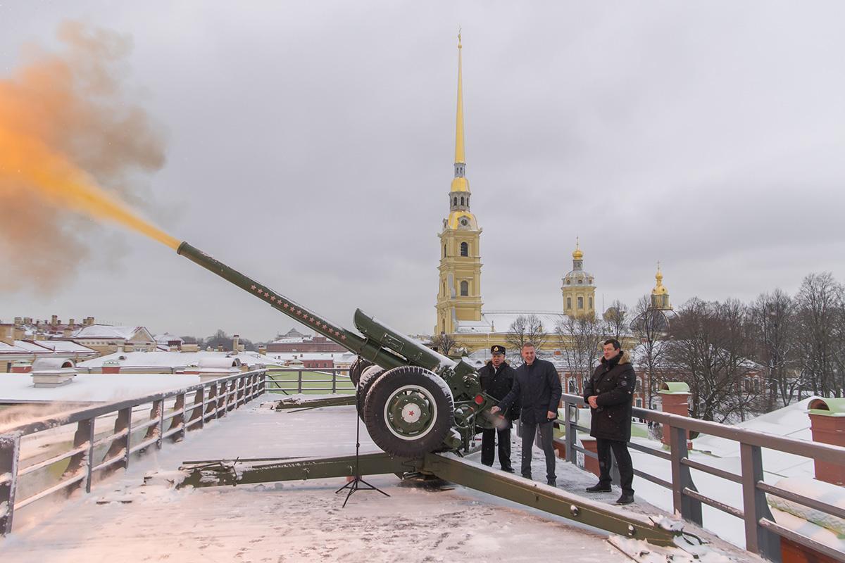 120-летие СПбПУ ознаменуется полуденным выстрелом орудия в Петропавловской крепости
