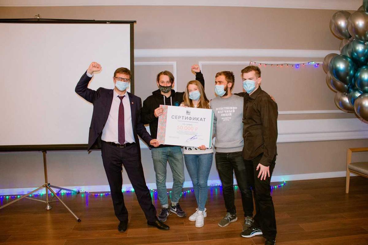 Победители кейс-чемпионата получили денежные призы и возможность работать над проектами в НОЦ Газпромнефть-Политех