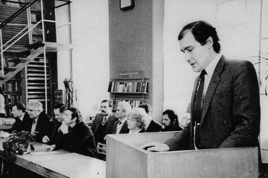Вся моя жизнь связана с университетом, и я горжусь, что я - политехник (на фото 1980-х годов А.Н. Кобышев -декан по работе с иностранными учащимися)