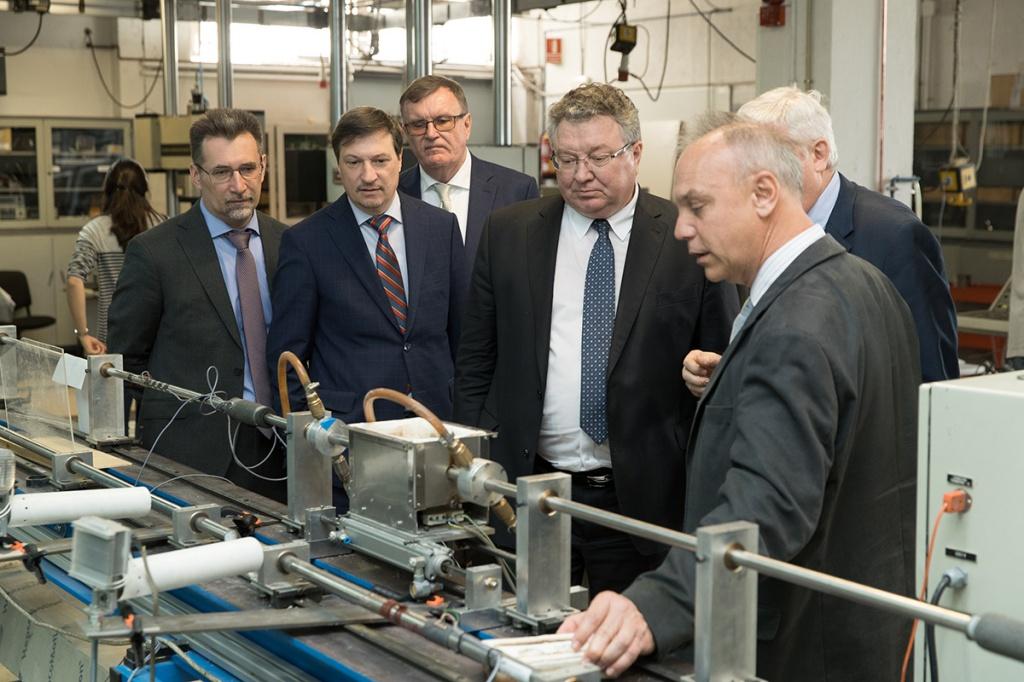 Делегация СПбПУ ознакомилась с инфраструктурой вуза-партнера
