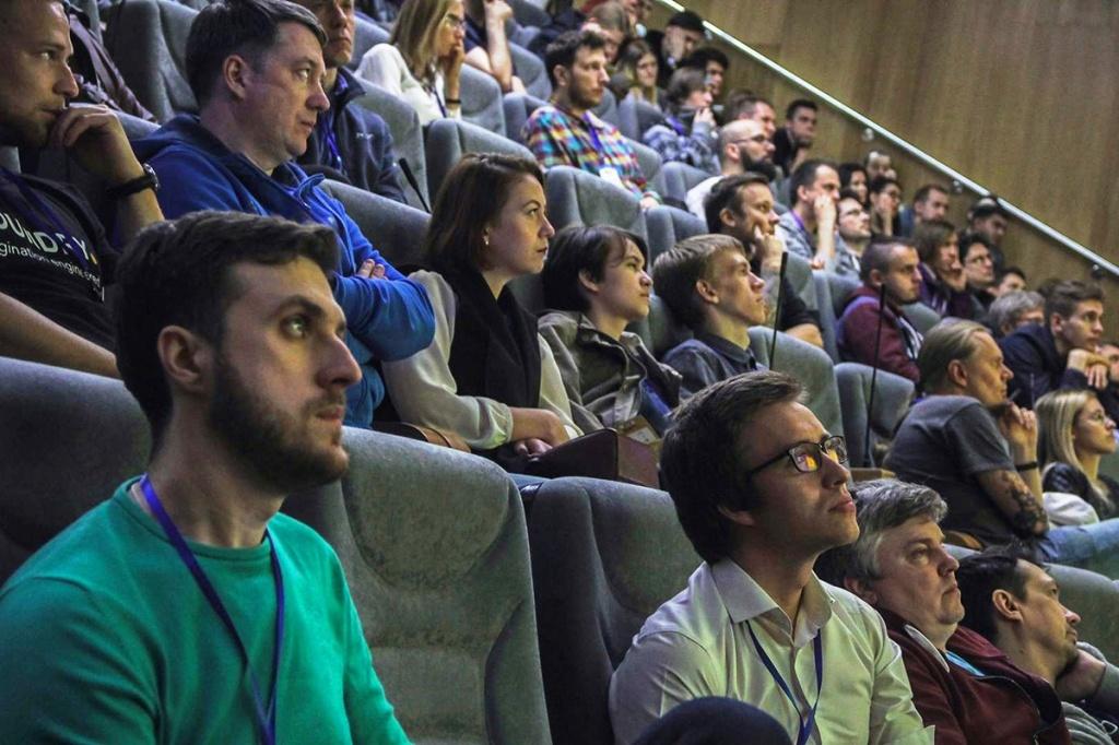 Выступления спикеров CG EVENT собирали полные залы