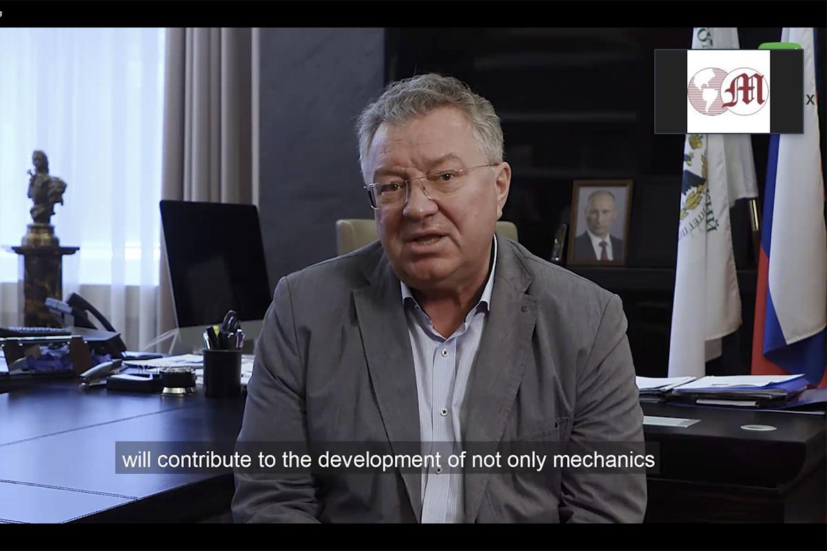 Ректор СПбПУ, академик РАН Андрей РУДСКОЙ