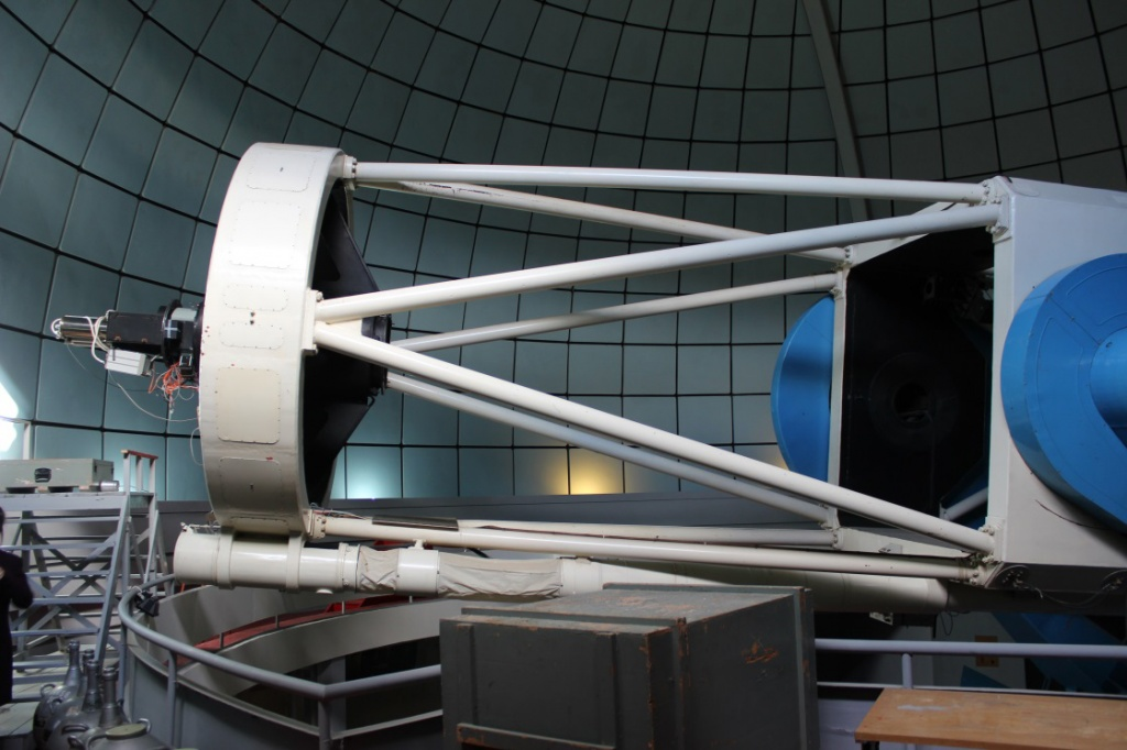 Политехники увидели радиотелескоп в Сараванде