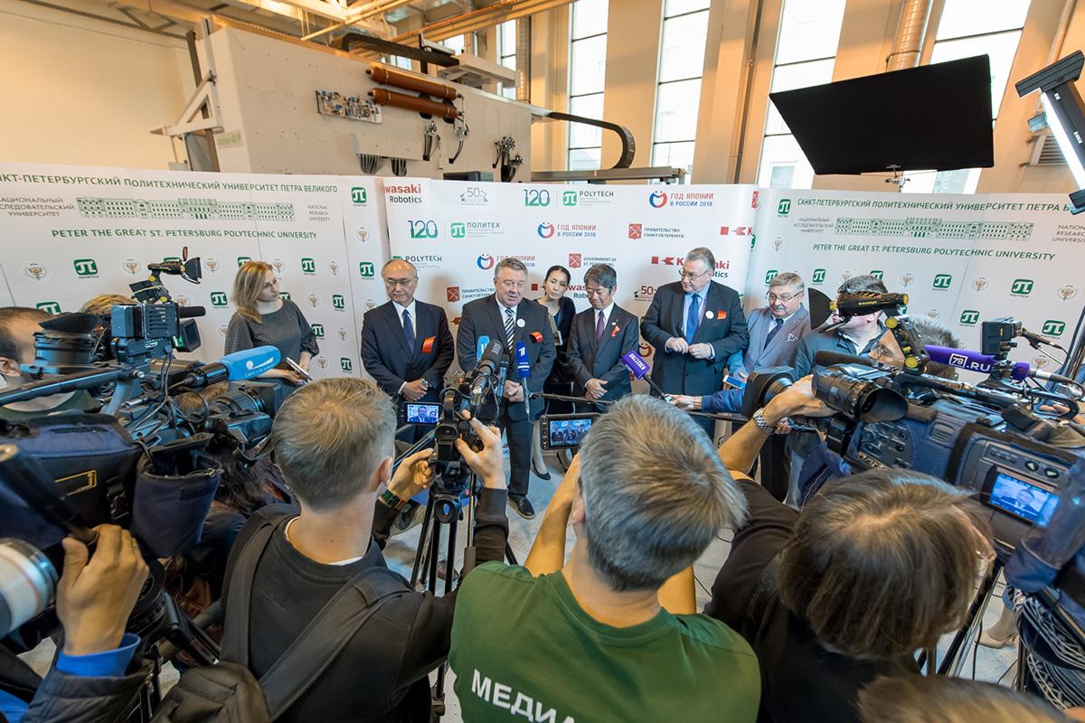 Открытие центра привлекло внимание российских и японских СМИ