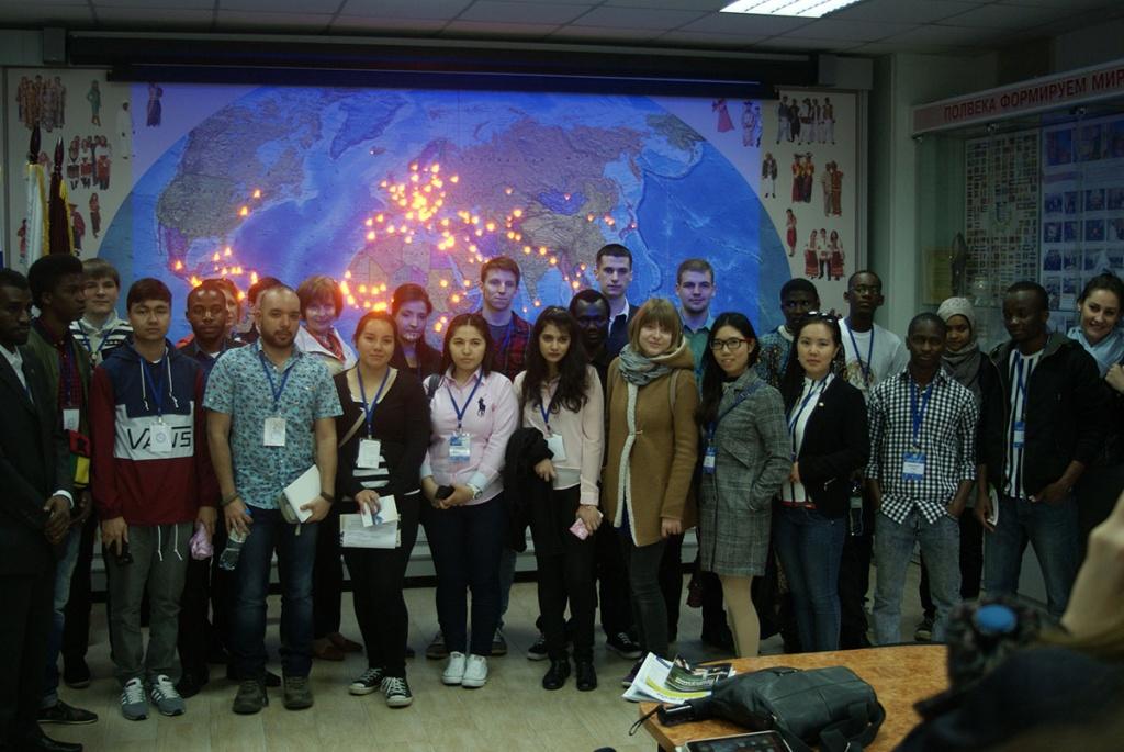 Иностраные студенты из разных стран мира