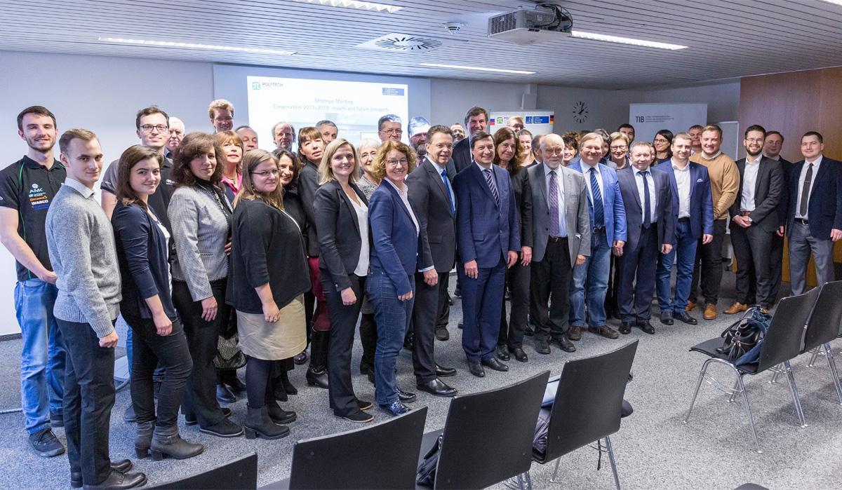 Результаты многолетнего проекта СПбПУ и ЛУГ представили ученые 14 научных групп