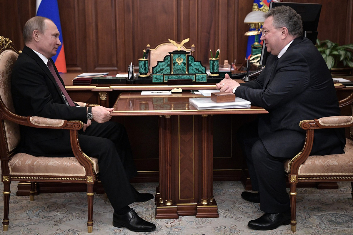 В Кремле состоялась встреча В.В. Путина с А.И. Рудским