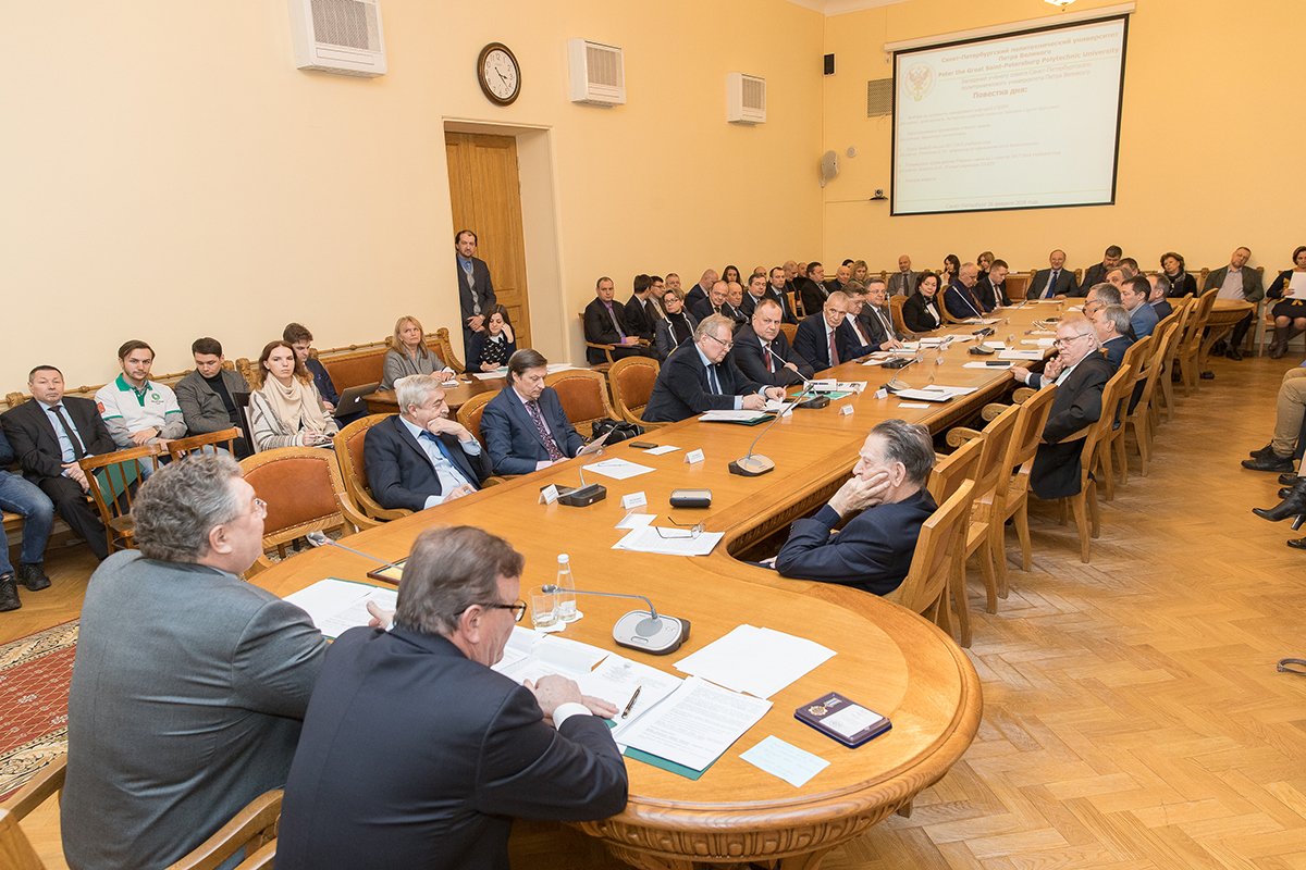 Доклад Л.В. Панковой активно обсуждался членами Ученого совета