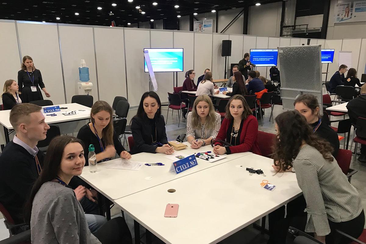 Команда во главе со студентом СПбПУ победила в интеллектуальной игре о развитии человеческого капитала на госслужбе