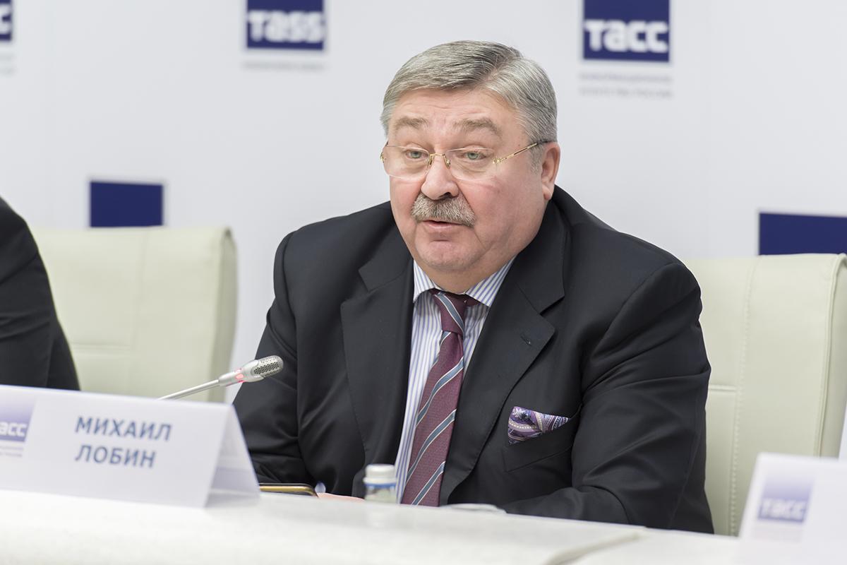 Первый вице-президент Союза промышленников и предпринимателей Санкт-Петербурга М.А. ЛОБИН