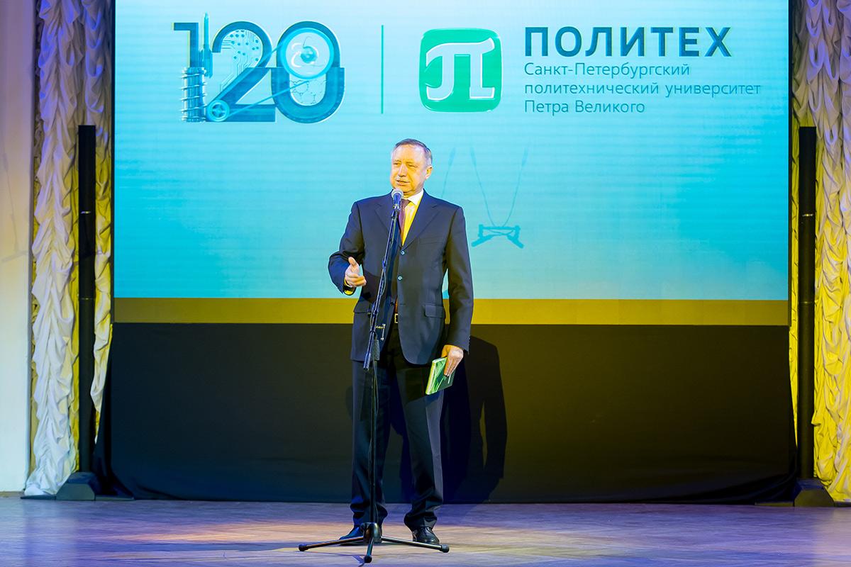 Александр БЕГЛОВ поздравил политехников со 120-летием