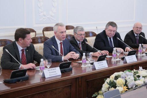 Подписание соглашения о сотрудничестве между Санкт-Петербургом и Северо-Западным федеральным медицинским исследовательским центром имени В.А. Алмазова