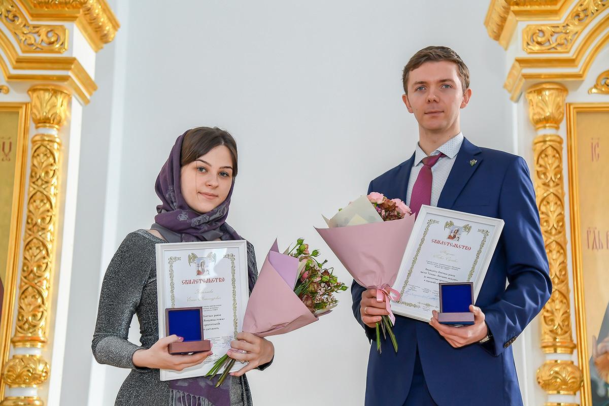 Елена Королькова и Павел Неделько