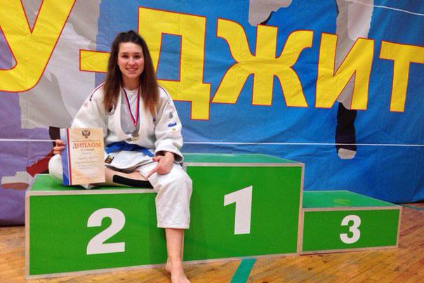 Виктория Ширшова - серебряный призер Чемпионата России 2016 года по джиу-джитсу