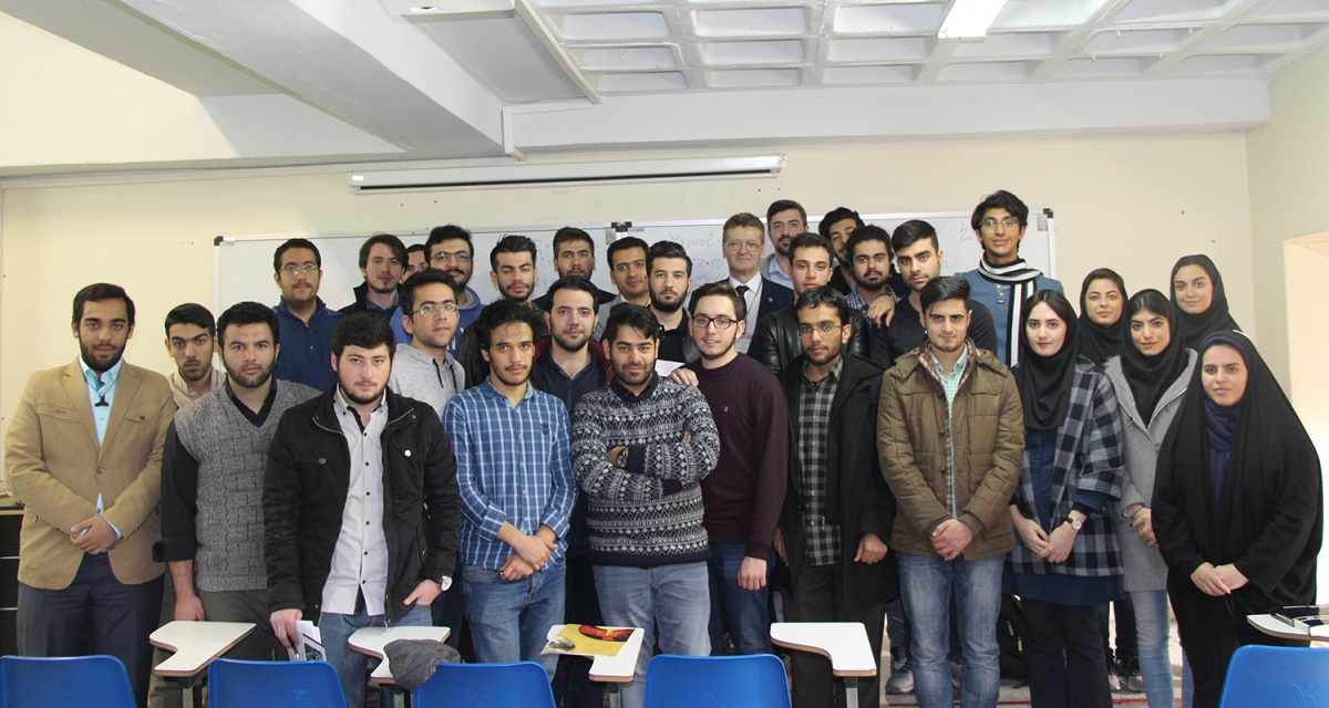 В последний день визита Н.А. Забелин встретился со студентами и преподавателями Университета Шахид Бехешти