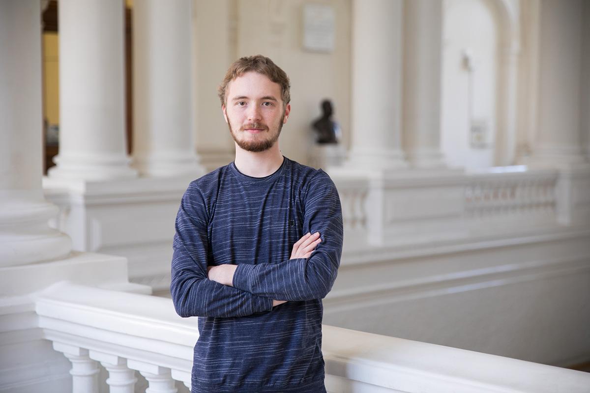 Студент 1 курса ИФНиТ Павел СИБИРЦЕВ
