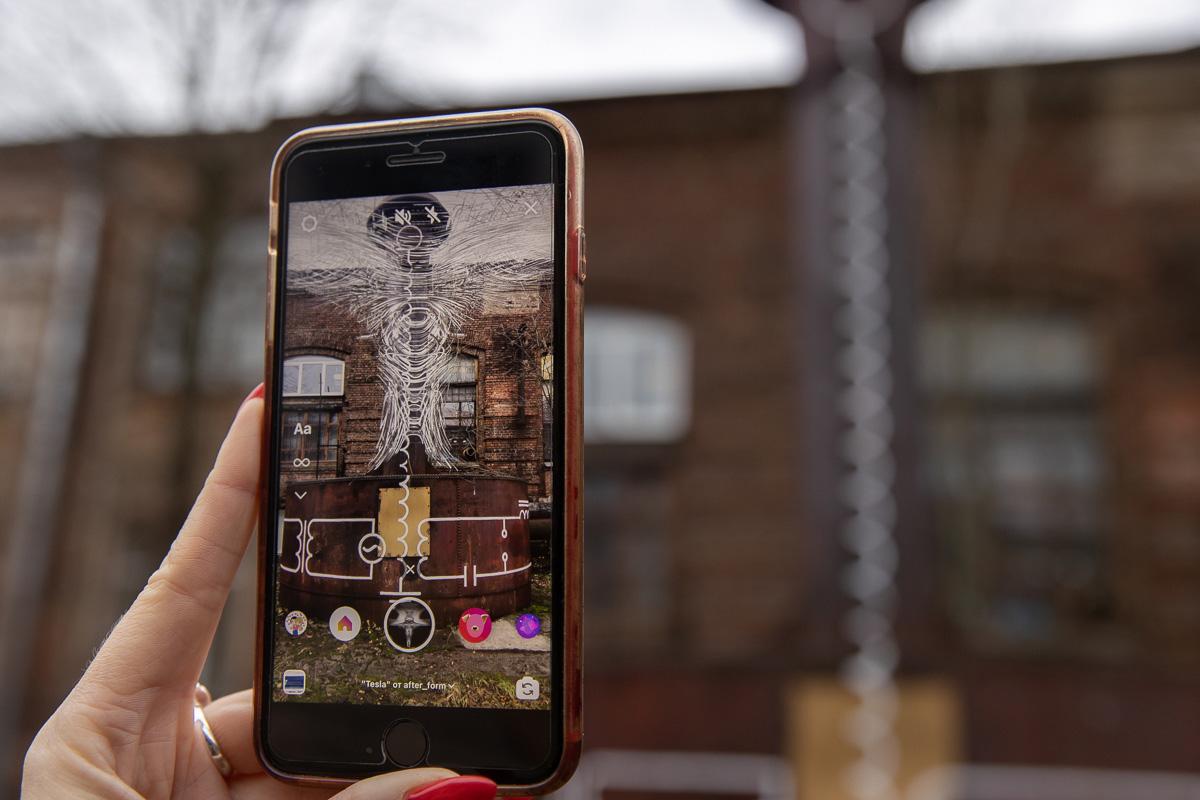 Все три объекта выполнены с применением AR-технологии (технологий дополненной реальности) – для просмотра требуется смартфон