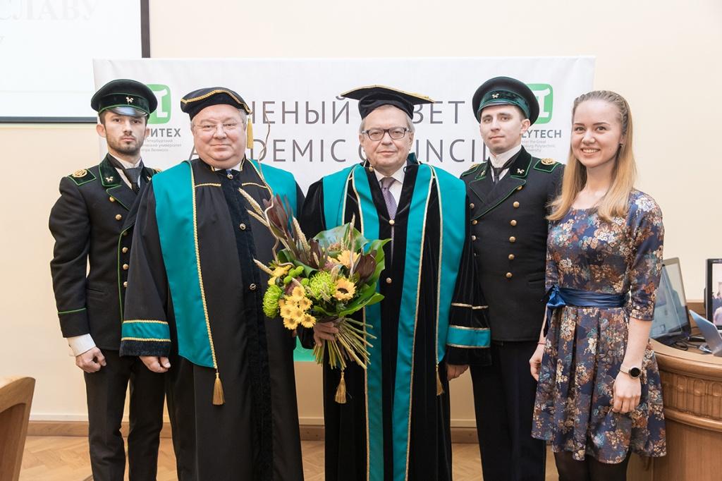 В.Я. Панченко стал Почетным доктором СПбПУ