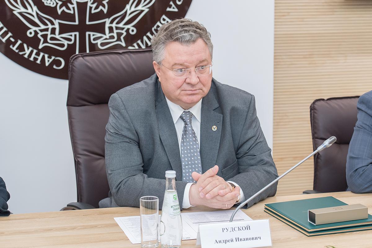 Ректор СПбПУ А.И. Рудской уверен, что взаимодействие двух вузов поможет молодым специалистам