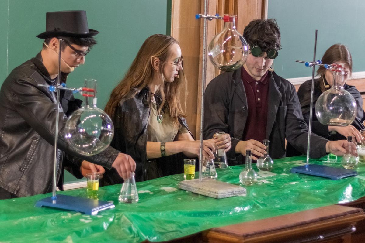 Фестиваль науки «Сайнс день» прошел в Политехе