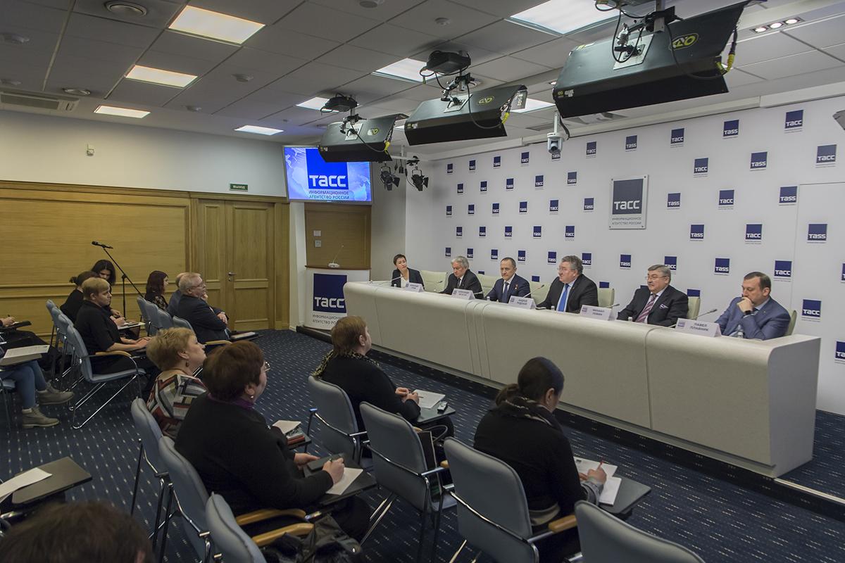 В ТАСС прошла пресс-конференция по первым итогам всероссийской олимпиады Я - профессионал