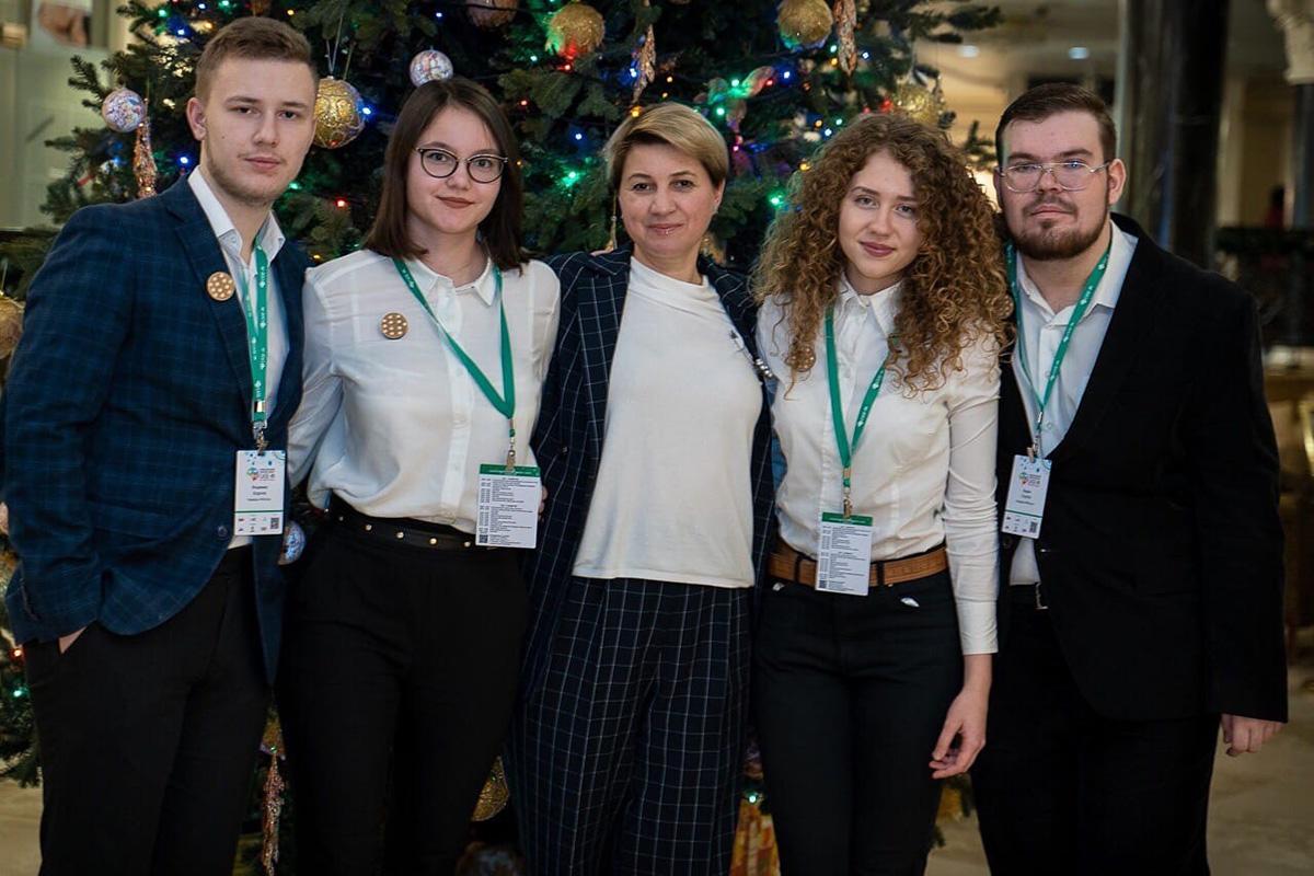 Команда победителей V4Victory с руководителем Ольгой Новиковой