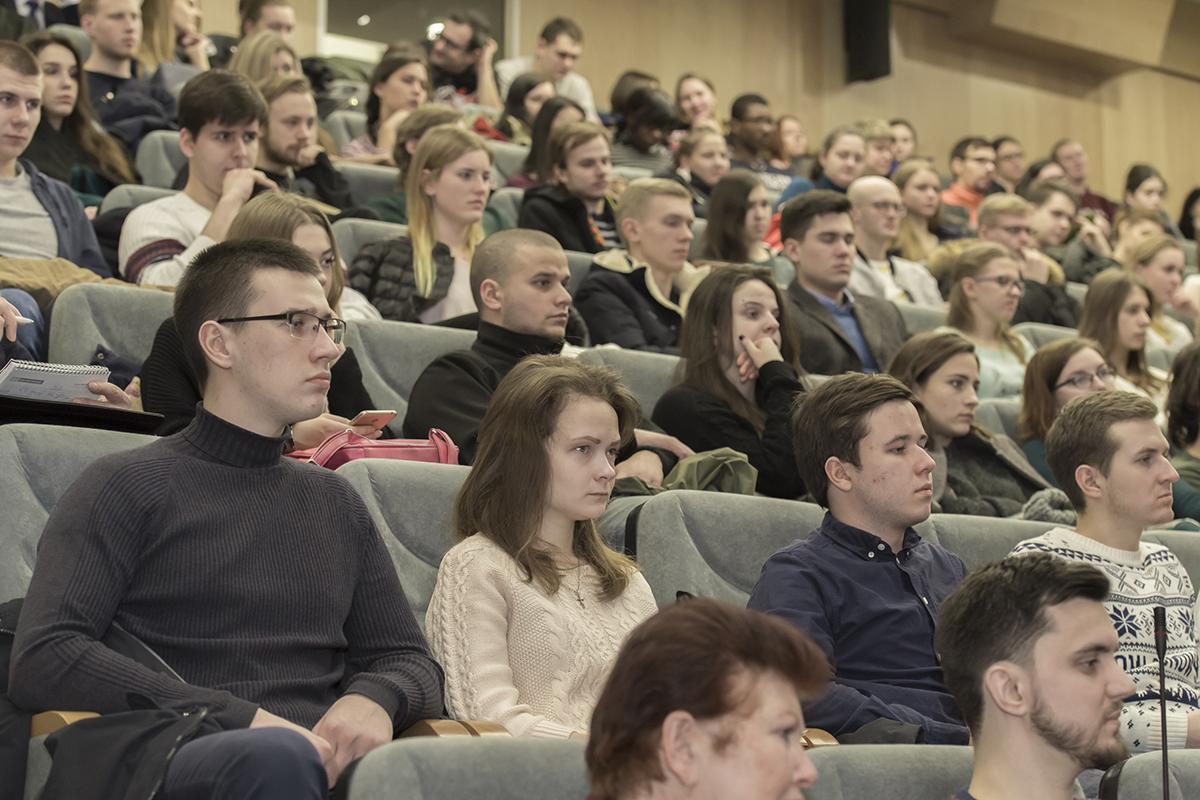 Лекция академика Квинта вызвала большой интерес у студентов и преподавателей СПбПУ